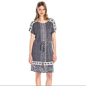 Lucky Brand Border Tee Dress